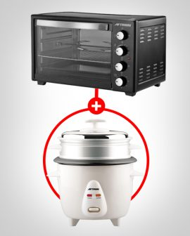 Electric Oven Toaster 60L&Rice Cooker bundle