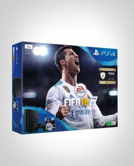 PS4 1TB FIFA 18 Bundle with Extra Controller