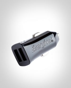 ENERGIZER CAR ADAPTER 2.4A 2USB Black
