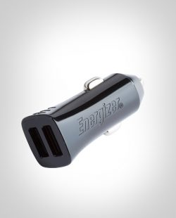ENERGIZER CAR ADAPTER 4.8A 2USB Black