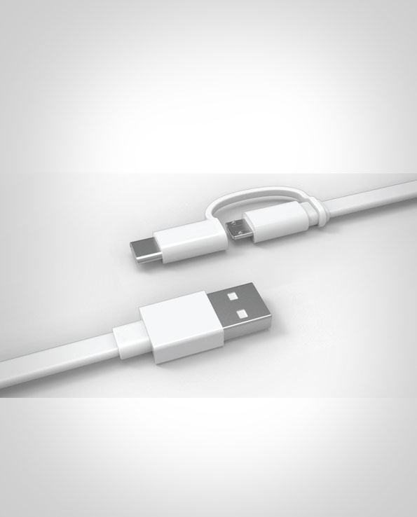 Huawei Cable 2 in 1 Type C and Micro USB