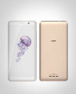 LAVA IRIS 88S WITHOUT CAMERA DUAL SIM Gold