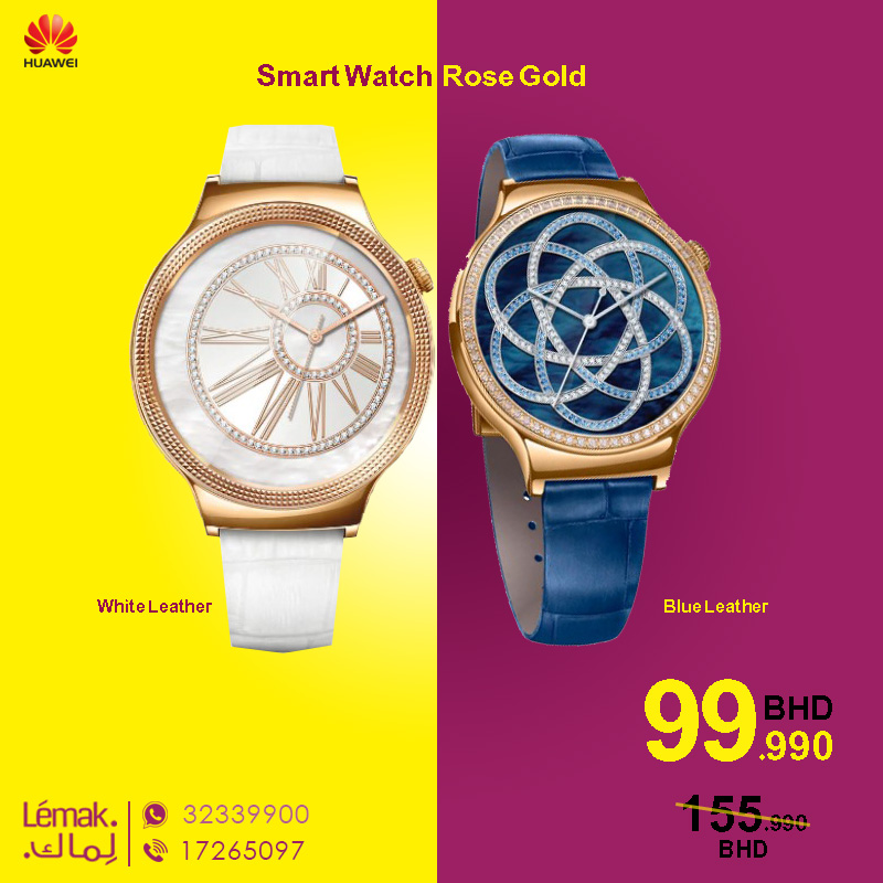 Huawei Smart Watch Rose Gold