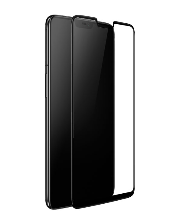 OnePlus 6 3D Tempered Glass Screen Protector Black 3