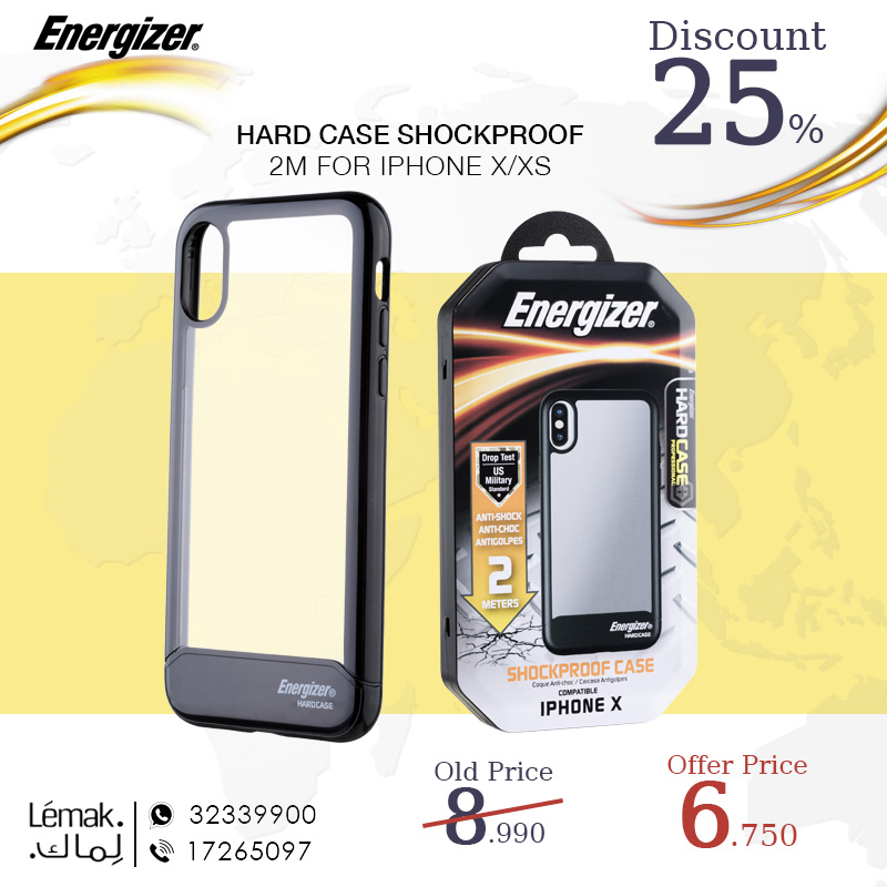 HARD CASE SHOCKPROOF 2M FOR IPHONE X XS