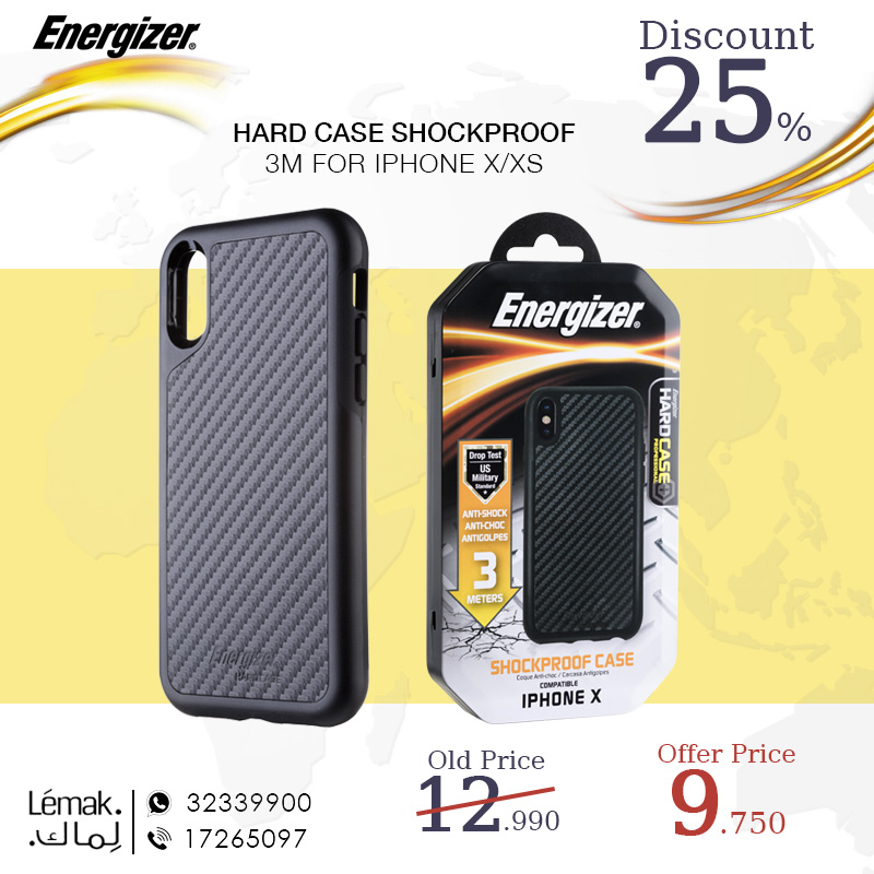 HARD CASE SHOCKPROOF 3M FOR IPHONE X XS